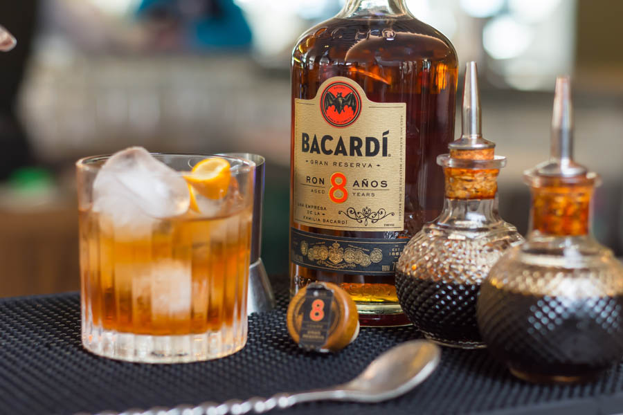 Old Fashioned Bacardi 8 years 11