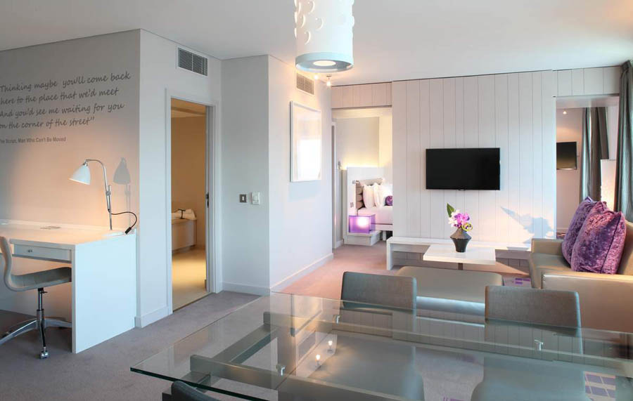 luxury hotel suites dublin city ireland